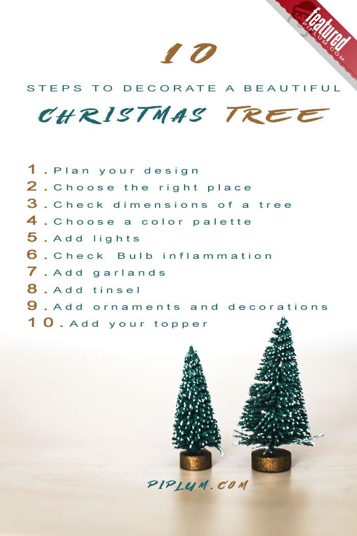 10 Christmas Tree Decorating Steps You Should Start Using Now Top