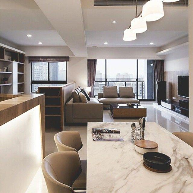 Elegante ambiente en tonos claros y calidos como la for Como remodelar una cocina