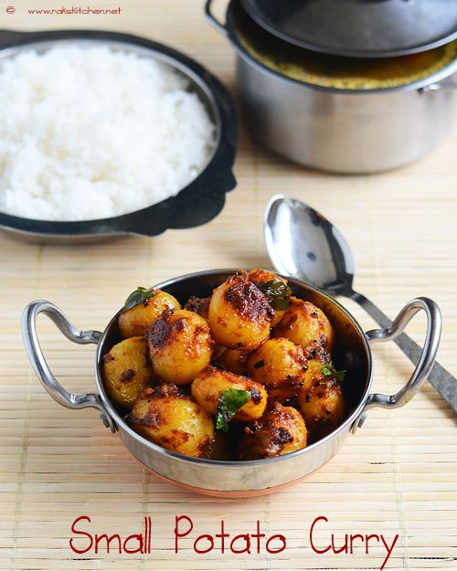 small-potato-curry-recipe by Raks anand, via Flickr