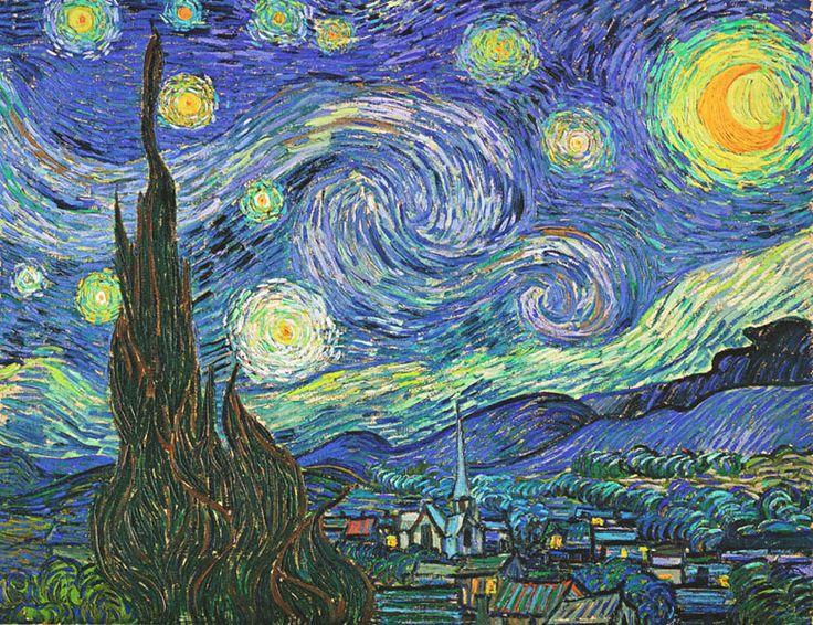 Werke - Die bekanntesten Gemälde Vincents Van Gogh - Seite 1 - www.Gogh.ch