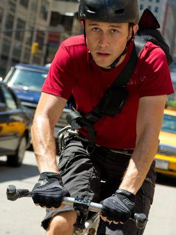Joseph Gordon-Levitt in Premium Rush. The poster boy for bike couriers.