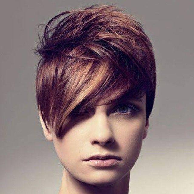 Je bruine haar kort laten knippen? Check deze 13 geweldige korte kapsels voor brunettes.. - Kapsels voor haar