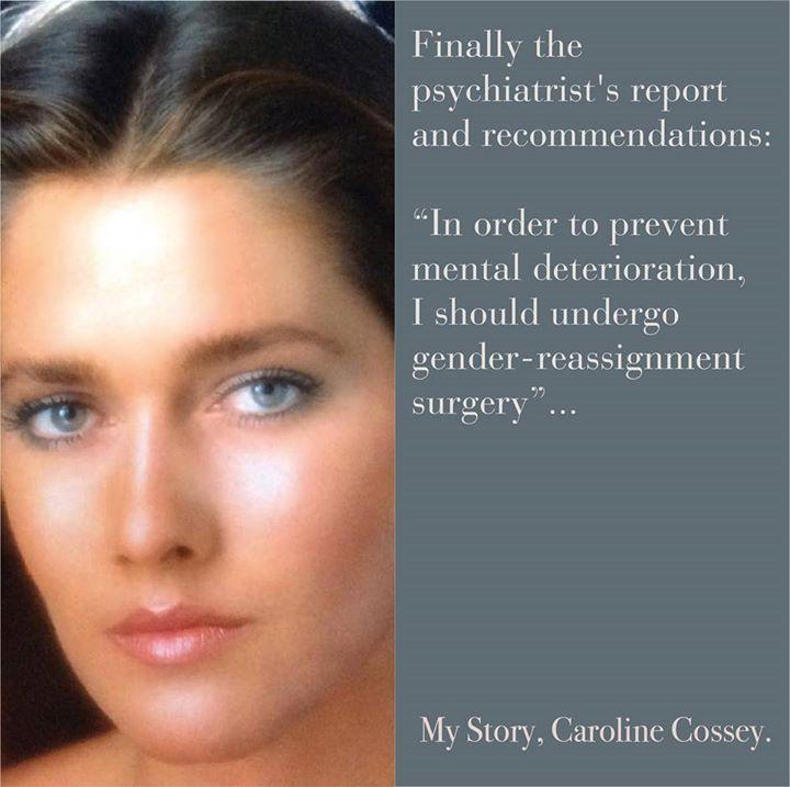 My Story, by Caroline Cossey | Eyes | Pinterest