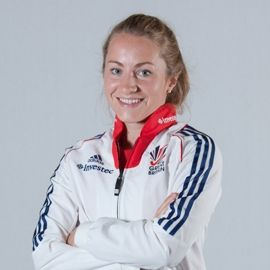 Shona McCallin, a hockey player for Great Britain at Rio 2016