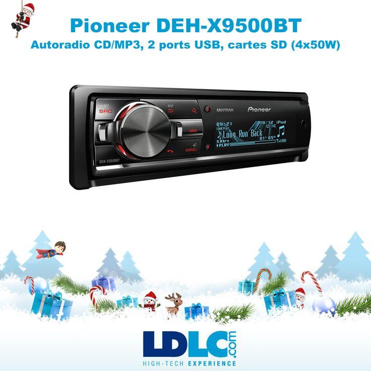 Grand jeu de Noël LDLC ! Vous avez voté pour : Pioneer DEH-X9500BT : http://www.ldlc.com/fiche/PB00141658.html  RDV le 27/11 pour vous inscrire à notre grand jeu de Noël !