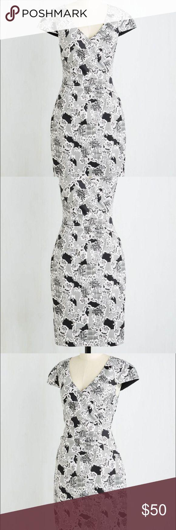 Modcloth Across The Boardroom Sheath Dress NWOT - Size Small ModCloth Dresses Midi