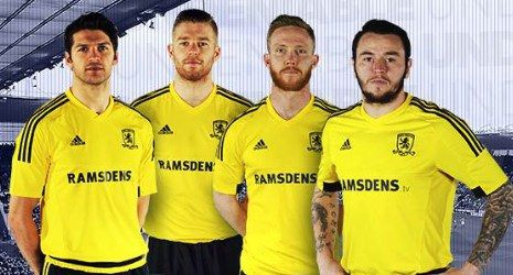 Middlesbrough FC 2015/2016 adidas Away Kit