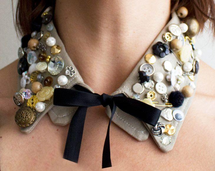 DIY: Cuello decorado
