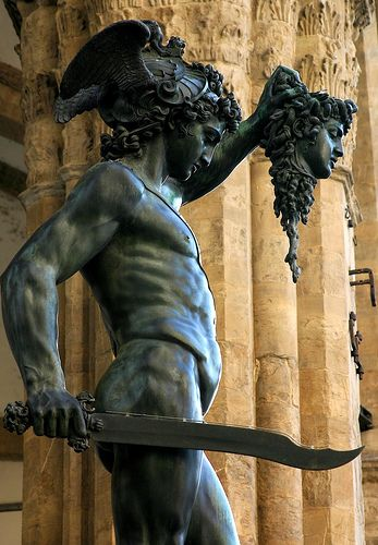 Perseus with the Head of Medusa, Piazza della Signoria in Florence, Italy