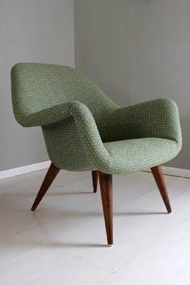Mid-century Danish armchair.
