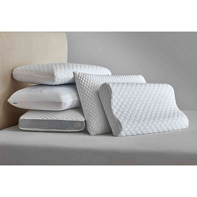 Therapedic Classic Comfort Memory Foam Pillow In White In 2020