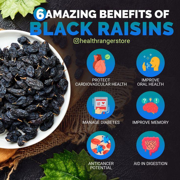 6 amazing benefits of black raisins in 2020 health