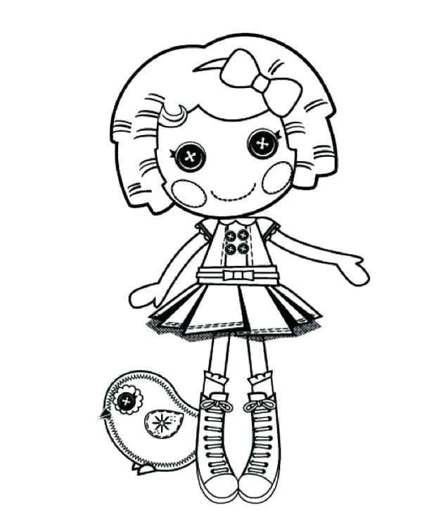 Lalaloopsy Coloring Pages Best Coloring Pages For Kids Lalaloopsy Coloring Books Mermaid Coloring Pages