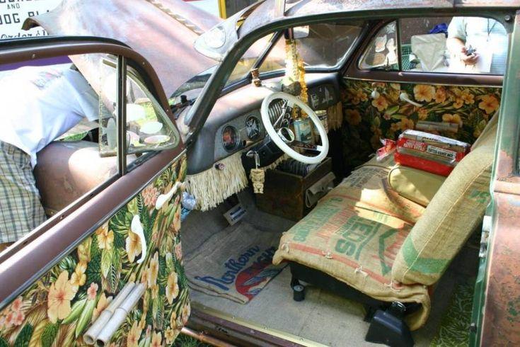 1951 Chevy Styleline 2 Door Rat Rod Cars Interior