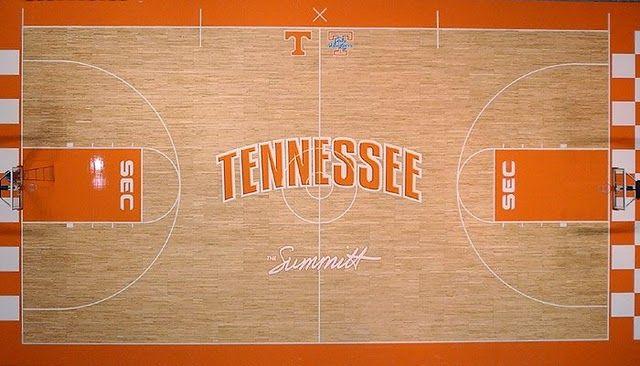 Lady Vols Basketball court