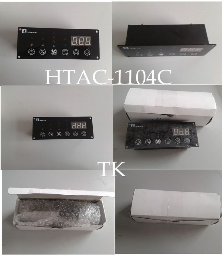 CLIMR-1 control pannel for bus AC system