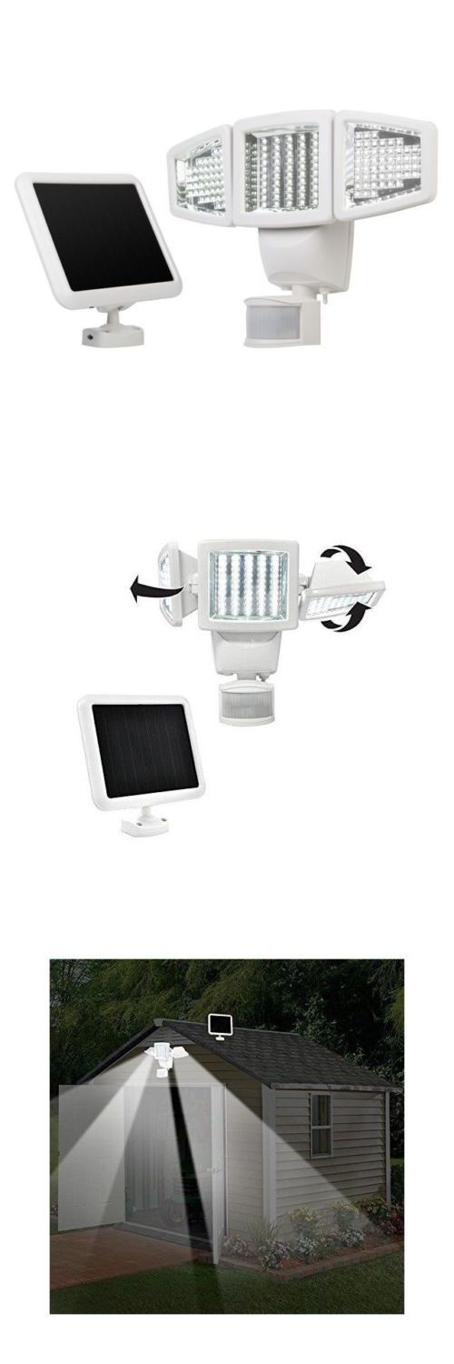 farm and garden: Sunforce 150 Led Triple Head Solar Powered Motion Activated 1000 Lms Flood Light -> BUY IT NOW ONLY: $46.95 on eBay!