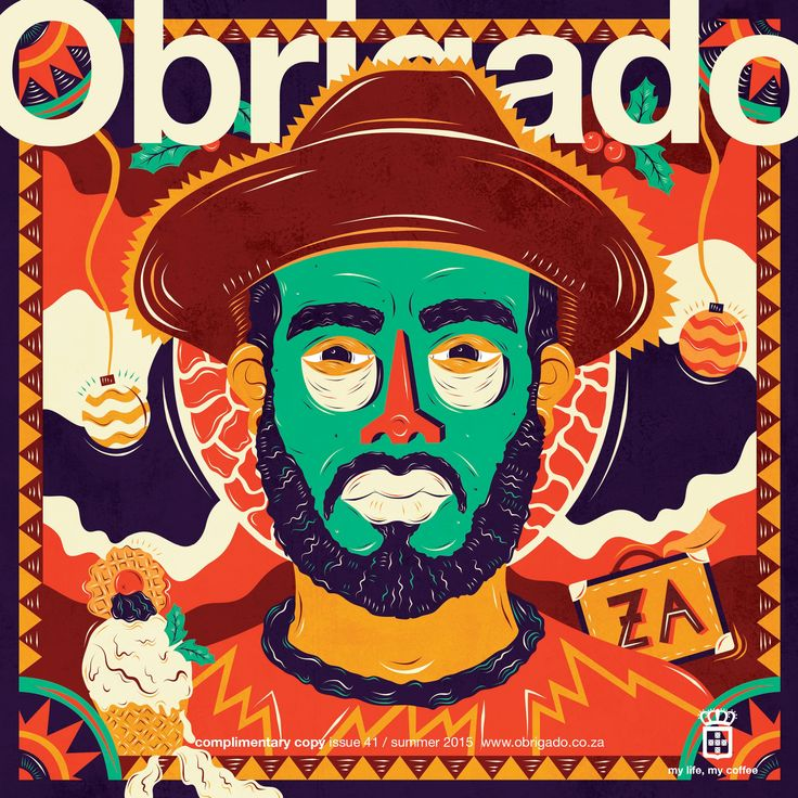 """Check out this @Behance project: """"OBRIGADO Magazine - December Issue"""" https://www.behance.net/gallery/35190823/OBRIGADO-Magazine-December-Issue"""