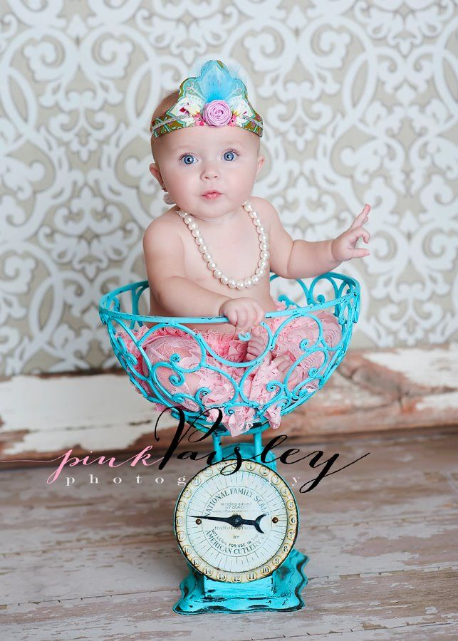 just so cute - Pink Paisley photography