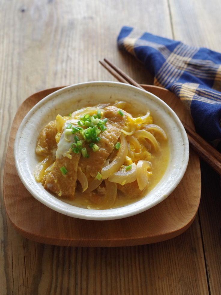 たまきつね(玉ねぎと油揚げの卵とじ) by ささき 礼奈 | レシピサイト「Nadia | ナディア」プロの料理を無料で検索