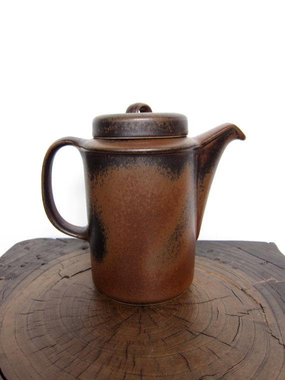 Vintage Arabia Finland Ruska Coffeepot Ulla by ModernSquirrel, $65.00