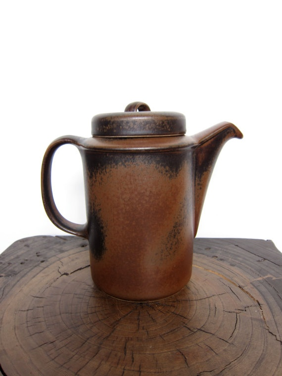 Vintage Arabia Finland Ruska Coffeepot Ulla by ModernSquirrel $65.00  sc 1 st  Pinterest & 14 best Arabia Ruska Stoneware images on Pinterest | Ceramica ...