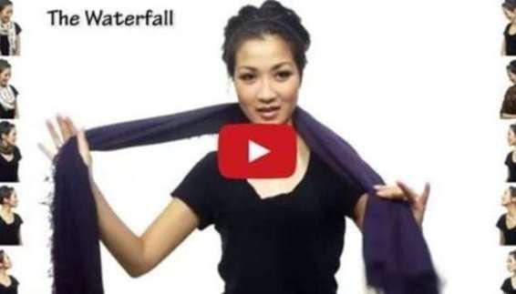 Amazing Fashion DIY – 12 Head Wrap Scarf Tutorials In Less Than 7 Minutes #hea…  – Head Band
