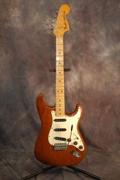 Vintage RARE Fender Stratocaster Gray Bottom Fender Pickups Original Case 1977 Mocha Brown | Reverb.com..Give us a call. Lawman Guitars..515-864-6136