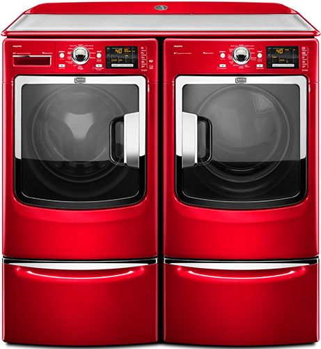oh yea Maytag in RED. 84% less energy and 82% less water.
