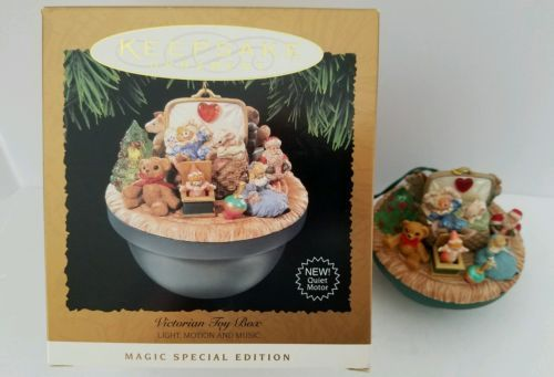 Hallmark keepsake #ornament victorian toy box 1995 #magic light motion #music ,  View more on the LINK: 	http://www.zeppy.io/product/gb/2/162034192345/