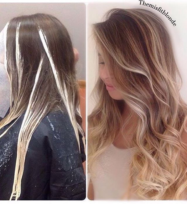 Painted with #wella freelights 40v