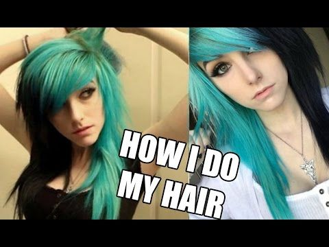 How I Do My Emo/Scene Hair | Alex Dorame