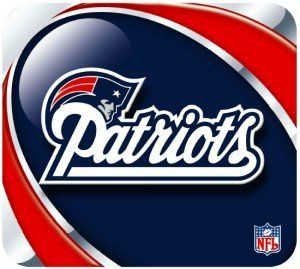 "NFL Football Team Logo Vortex Sublimated Mouse Pad - New England Patriots by Hunter. $10.25. Brighten up your desktop with this durable mouse pad featuring the New England Patriots logo on a bright Vortex background that incorporates the team colors. Mousepad surface is smooth fabric with a nonskid rubber back to keep it from slipping during use. This mousepad makes a great gift for any sports fan. Measures 8"" x 9"" x .25"""