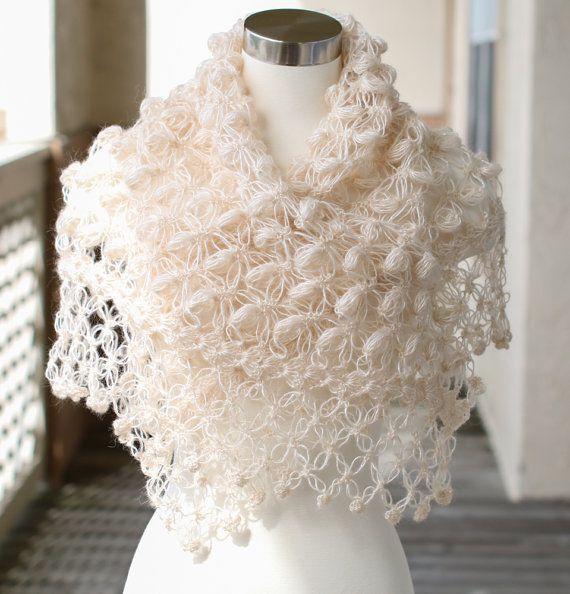 Bridal Shrug // Bridal Bolero // Shawl // Winter by MODAcrochet
