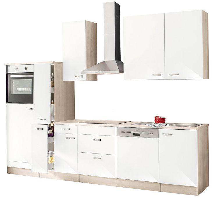 Küchenzeile mit E-Geräten, Optifit, »Faro«, Breite 300 cm Jetzt - küchenzeile 240 cm mit geräten