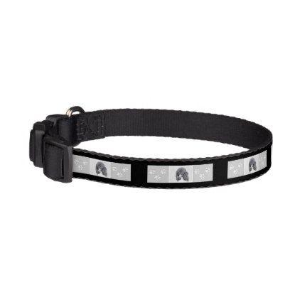 #Standard Poodle (Parti) Pet Collar - #poodle #puppy #poodles #dog #dogs #pet #pets #cute