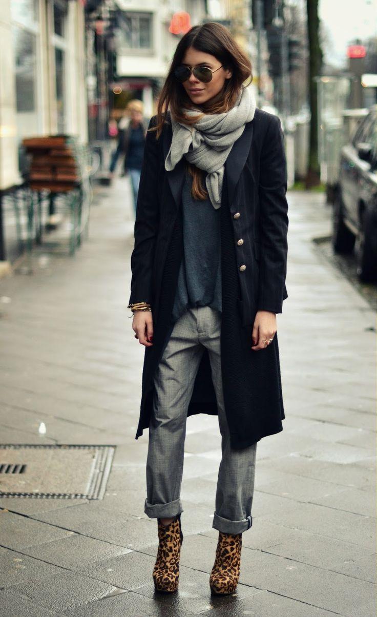 MAJA WYH - Zara leopard booties #style #blogger - #Fashion Cognoscente http://www.MajaWyh.com/2014/01/blog-post_3993.html
