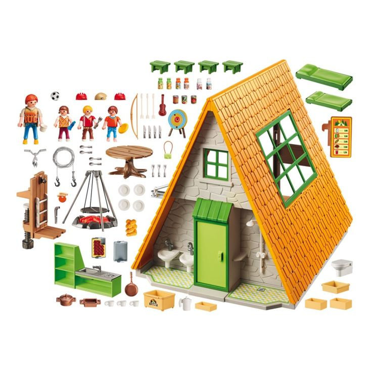 Go on a camping adventure with the Playmobil Camping Lodge. Buy your Playmobil Camping Lodge here!