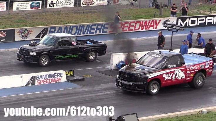 Драг Рейсинг Форд Рэйнджер и Додж Камминс Drag Race Ford Ranger vs Dodge...