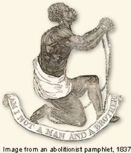 James Somerset or Somersett was a young African slave who was purchased by Charles Stuart in Virginia in 1749. In 1769, Stuart along with Somersett traveled to England. While in England, Somersett met and became involved with people associated with the anti-slavery movement in England including the well known activist Granville Sharp.  Somersett was recaptured after escaping, and his trial ultimately spelt the end of slavery in England