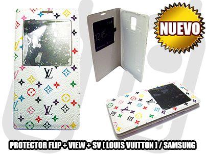 *NUEVO* - PROTECTOR FLIP + VIEW + SV [ LOUIS VUITTON ] PARA SAMSUNG GALAXY S5 [I9600] - SOLO EN MGWIRELESS!!!  https://www.facebook.com/mgwirelesstj