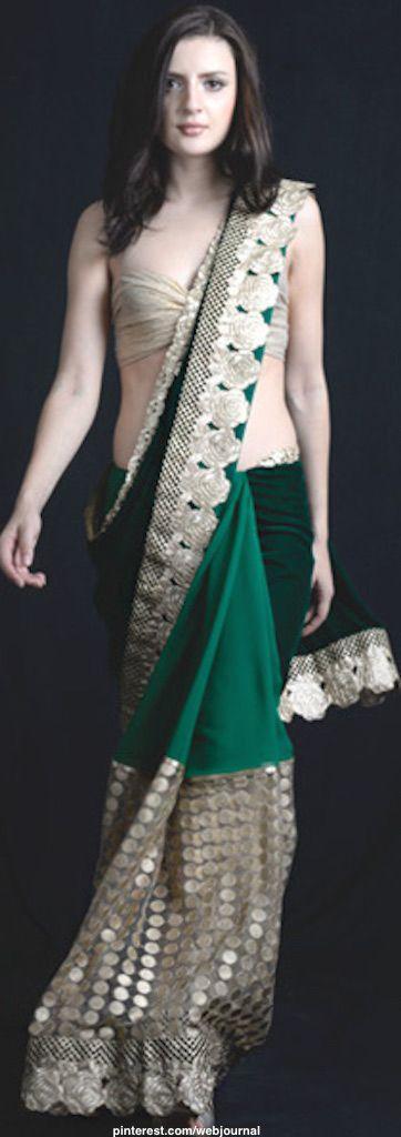 Anita Kanwal saree
