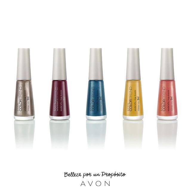 ¡Tus dedos piden color! ¿Cuál es tu favorito esta primavera?