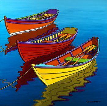 Graham Herbert - Waiting Rowboats