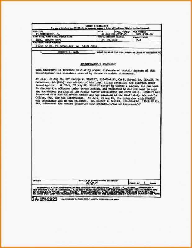 Notary Statement Template Check More At Https Nationalgriefawarenessday Com 45079 Notary Statement Template Statement Job Description Template Word Template