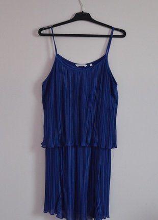 Kup mój przedmiot na #vintedpl http://www.vinted.pl/damska-odziez/krotkie-sukienki/16462593-plisowana-kobaltowa-sukienka-retro-tumblr