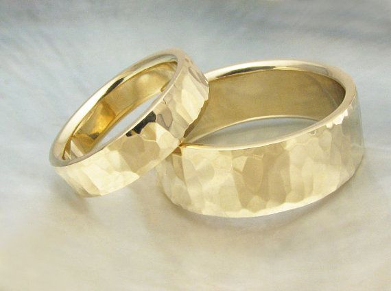 unique handmade and hand forged bespoke comfort fit wedding bands    ~~~~~~~~~~~~~~~~~~~~~~~~~  ** Our bands are made to order, currently in four to