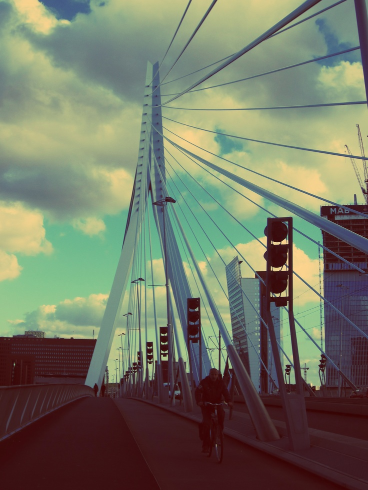 Beautiful sky in Roterdam