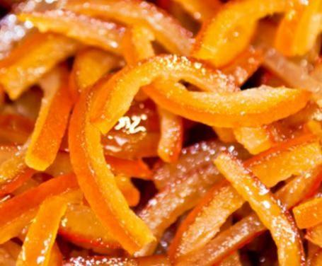 Ricetta Scorzette d'arancia candite