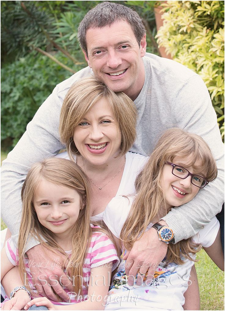 Love is a happy family portrait!  Memories for the wall definitely! #memories #family #portrait